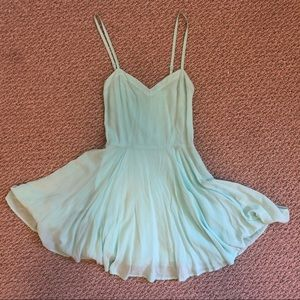 Talulua Turquoise Summer Dress